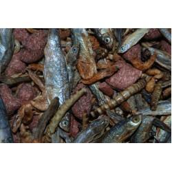 Dried Snapper Treat Mix