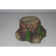 Small Detailed Tree Stump Hide 10 x 11 x 6.5 cms